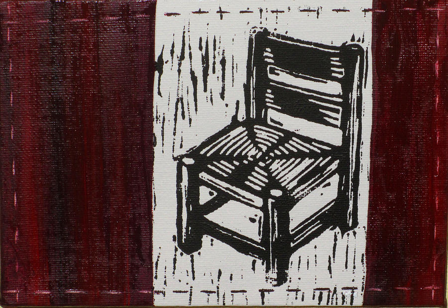 Chair Mixed Media - Chair I by Peter Allan