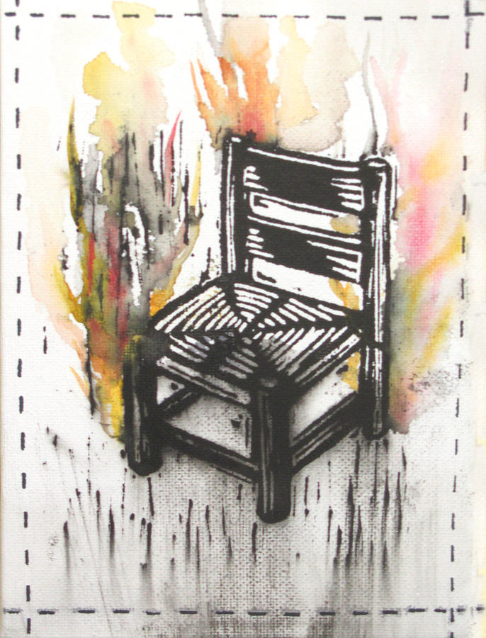 Chair Painting - Chair IIi by Peter Allan