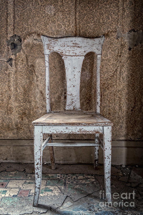 Chair in Abandoned Home in Bodie Ghost Town by Bryan Mullennix