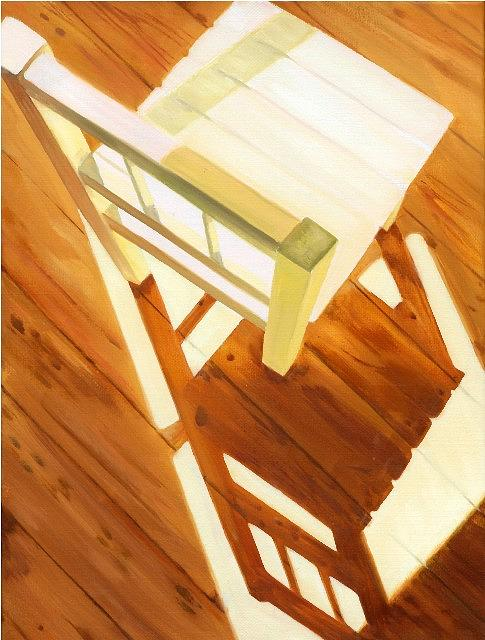 Chair In The Sun Painting by Leone Holzhaus