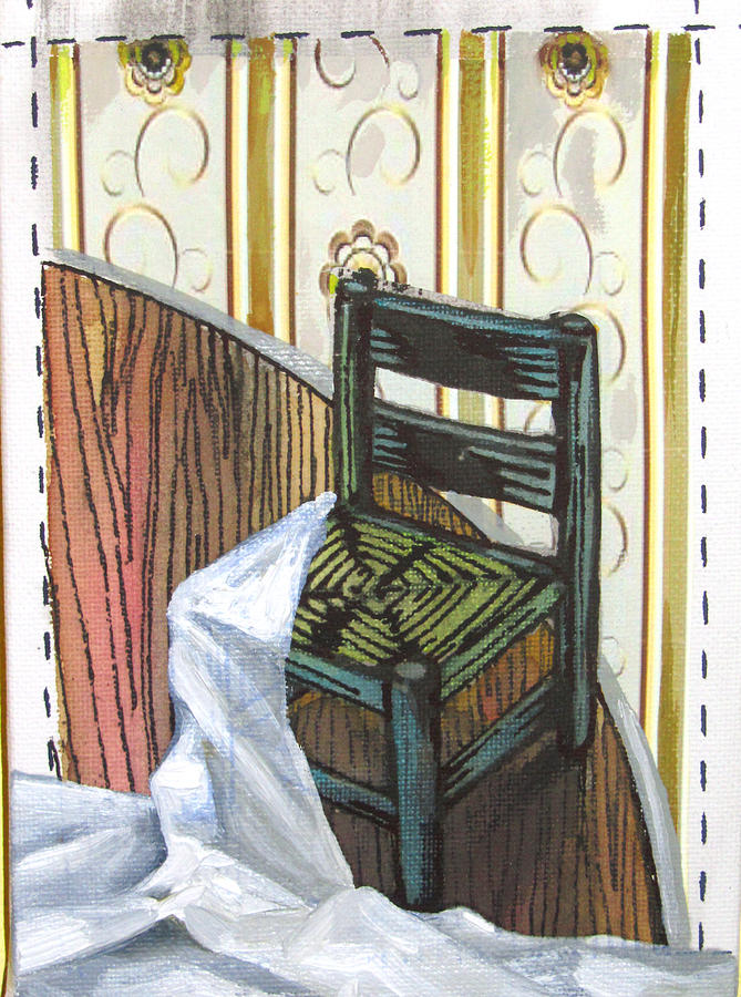 Chair Painting - Chair Iv by Peter Allan