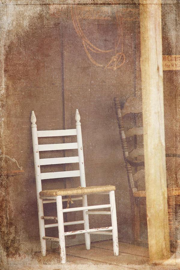 Wondrous Chair On Wooden Porch Ibusinesslaw Wood Chair Design Ideas Ibusinesslaworg