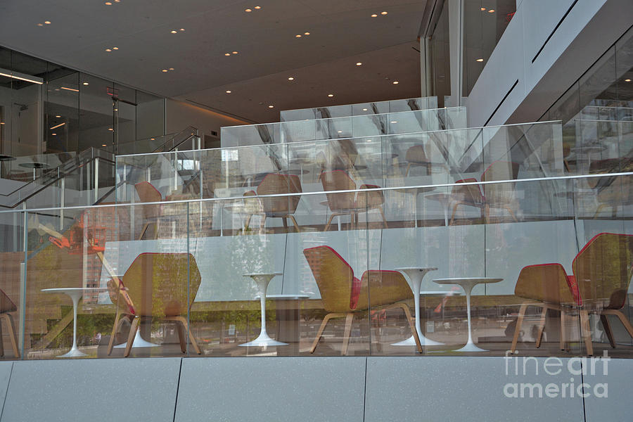 Chairs Photograph - Chair Reflections by Andrea Simon