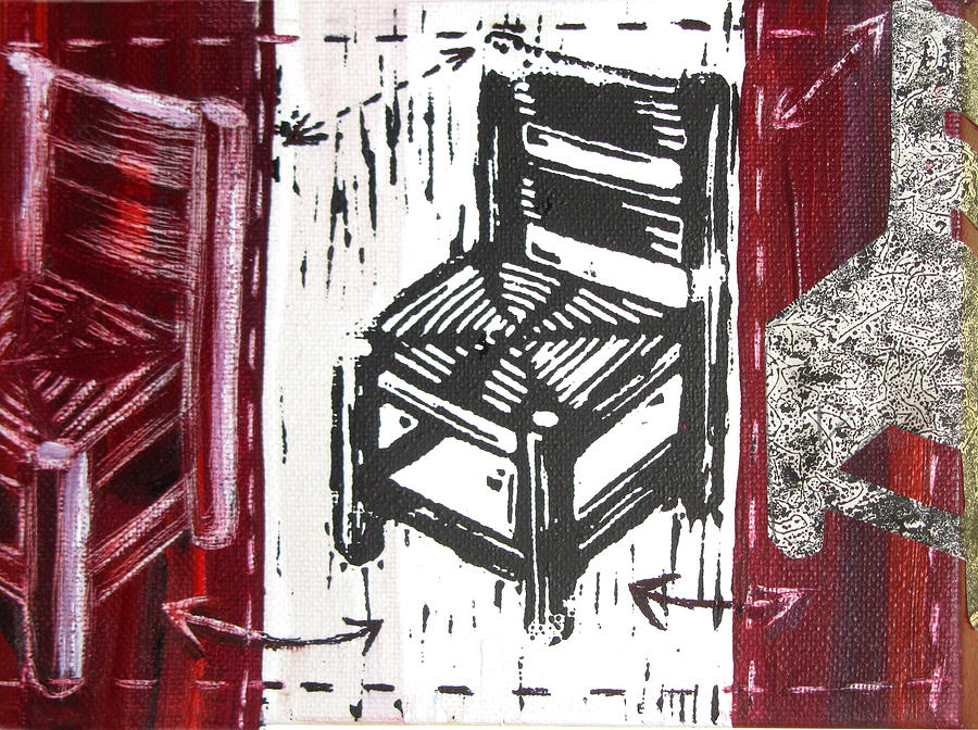 Chair Mixed Media - Chair V by Peter Allan