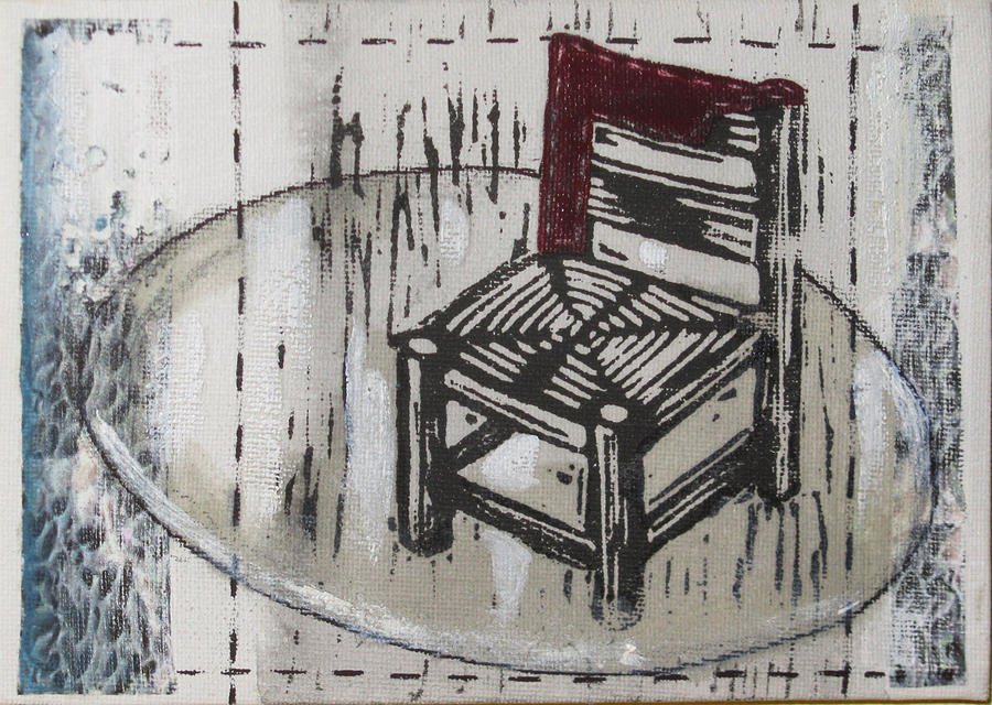 Chair Mixed Media - Chair Vii by Peter Allan