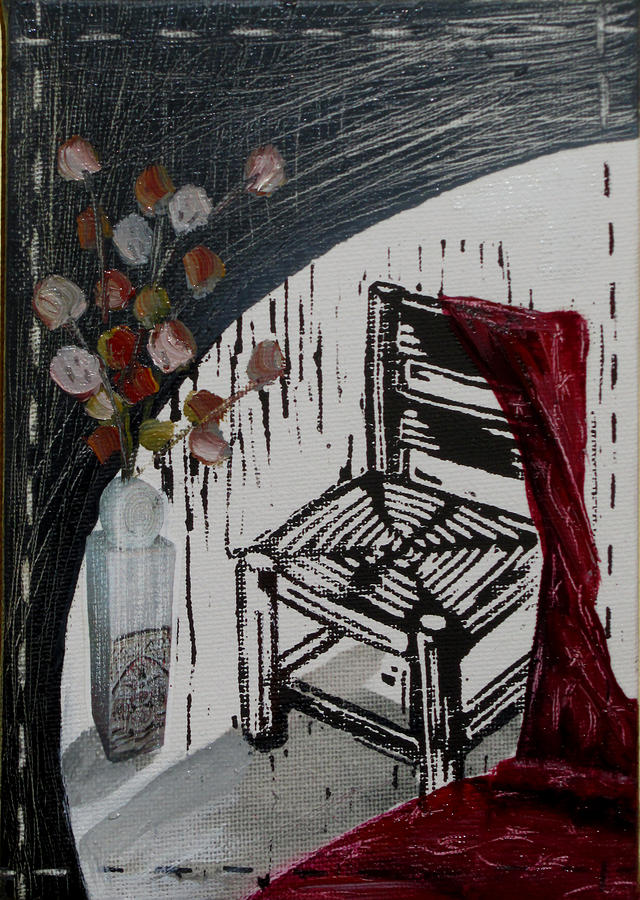 Chair Mixed Media - Chair Viii by Peter Allan