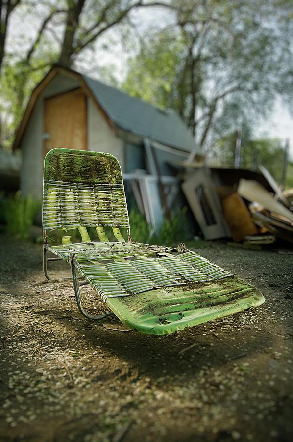 Classic Photograph - Chaise Lounge by Yo Pedro