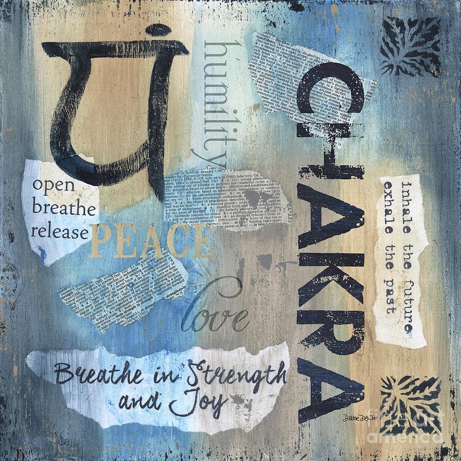 Chakra Painting - Chakra by Debbie DeWitt