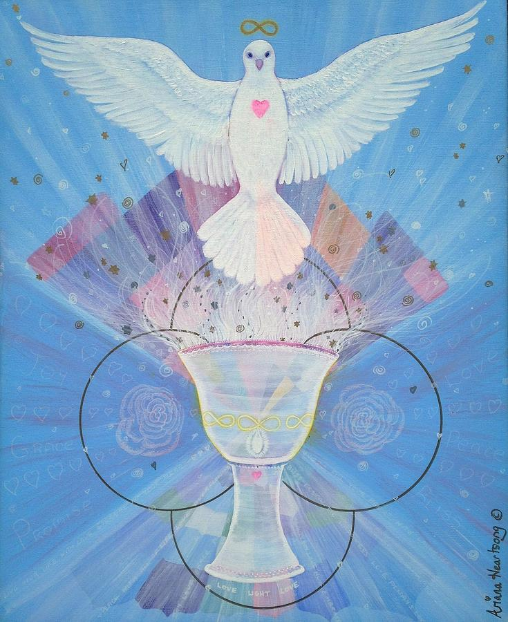 Chalice Of Light Painting by Ariana Heartsong
