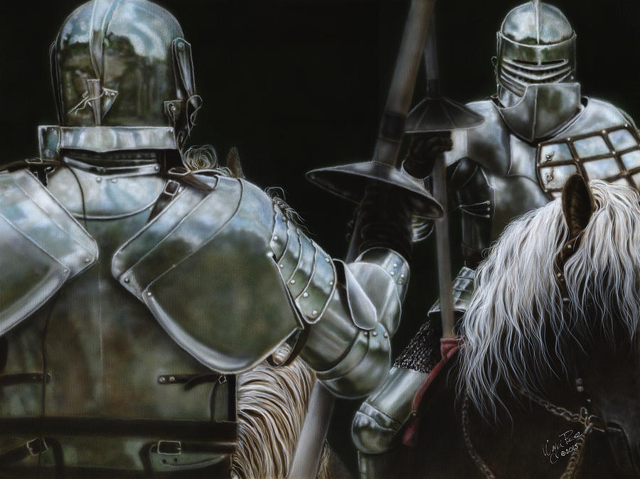 Knights Painting - Challenge by Wayne Pruse