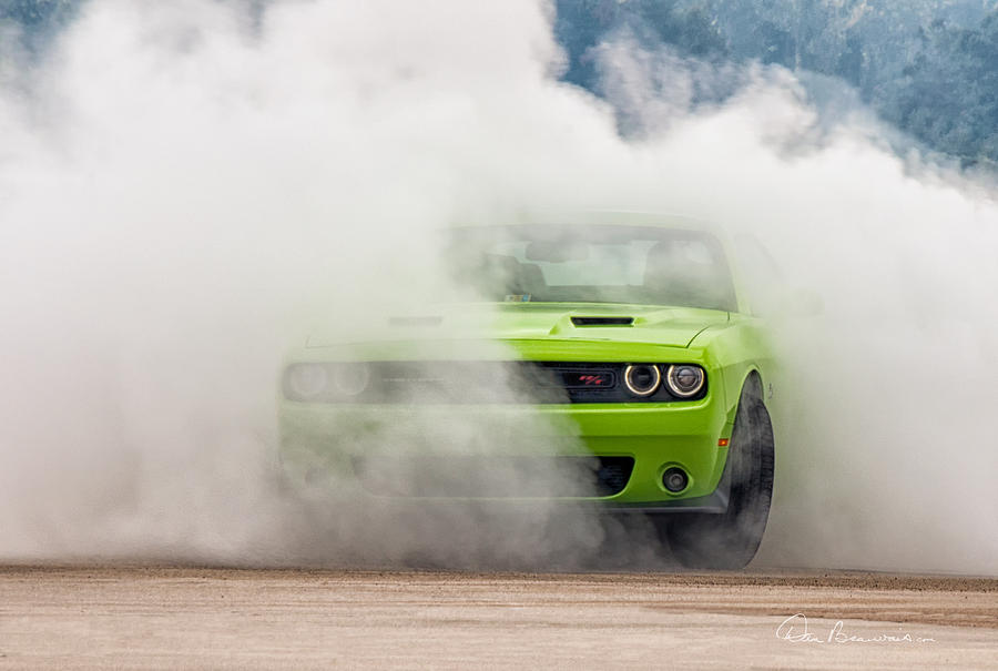 2016 Photograph - Challenger Smoke by Dan Beauvais