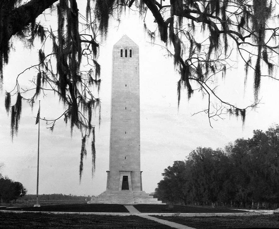 Battlefield Photograph - Chalmette Battlefield Monument  by Crescent City Collective