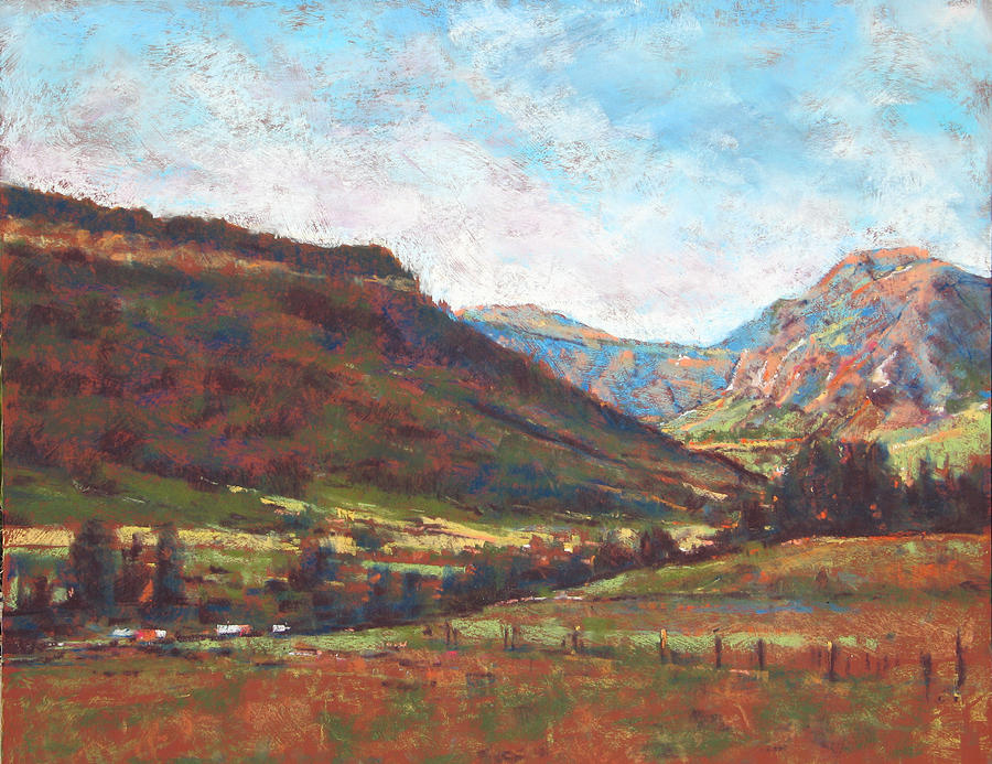 Pastel Painting - Chama Valley Light by James Roybal