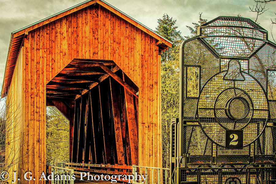 Chambers Railroad Bridge by Jim Adams