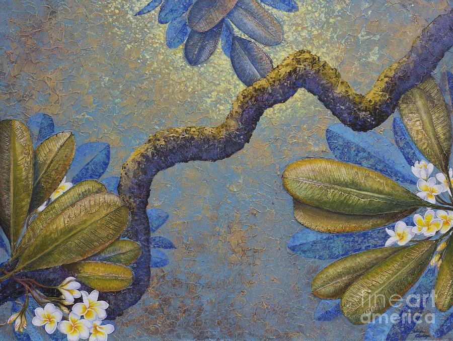 Magnolia Painting - Champa by Yuliya Glavnaya