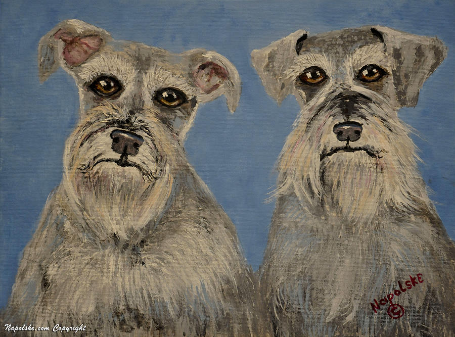 Chance and Lacy by Barney Napolske