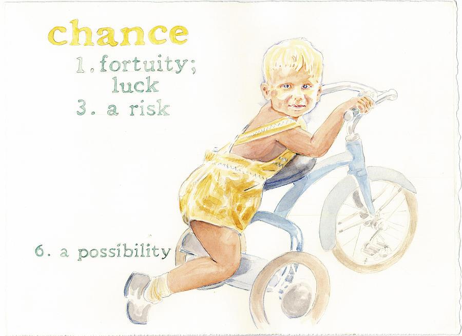 Kids Painting - Chance by Janice Crow