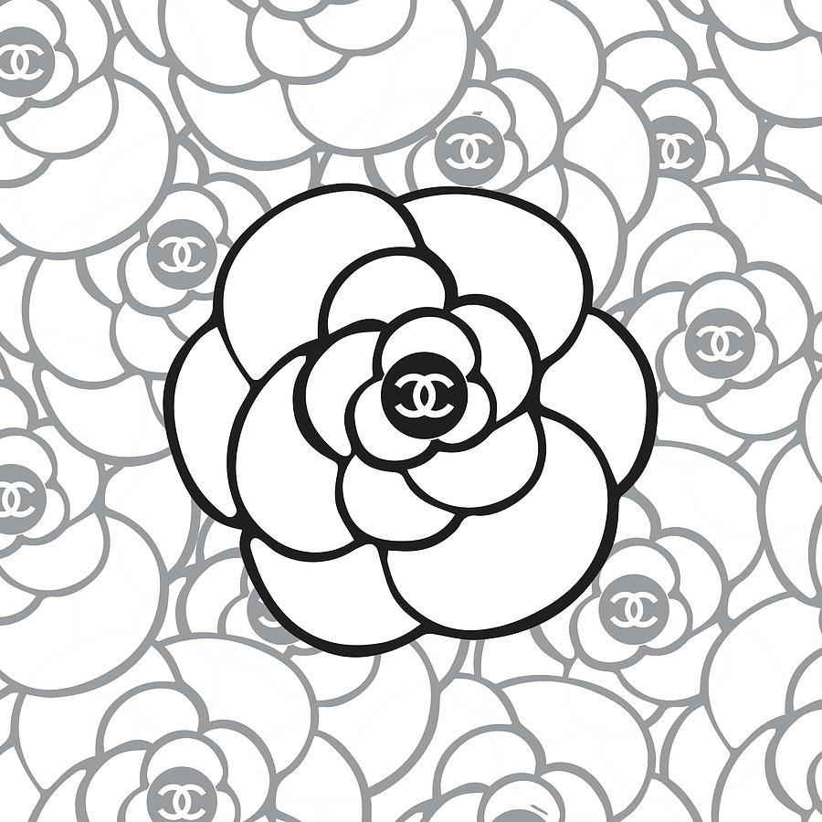 Chanel Camellia - 02 - Fashion And Lifestyle Digital Art ...