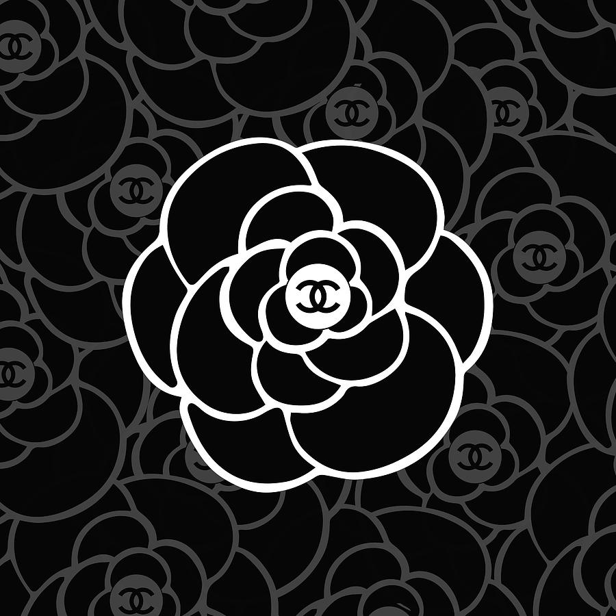 Chanel Digital Art - Chanel Camellia - 05 - Fashion And Lifestyle by TUSCAN Afternoon