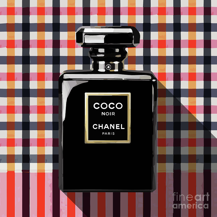 Paris Digital Art - Chanel Coco Noir-pa-kao-ma2 by Bobbi Freelance