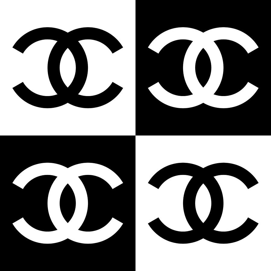 Chanel Painting - Chanel Design-5 by Three Dots