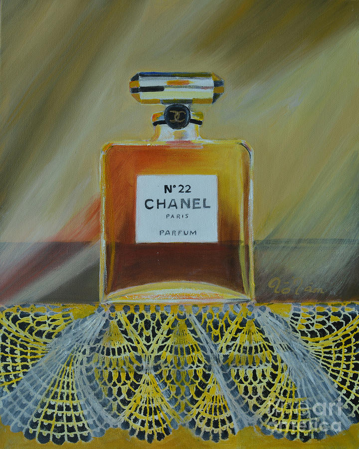 Chanel Painting - Chanel No 22 by To-Tam Gerwe