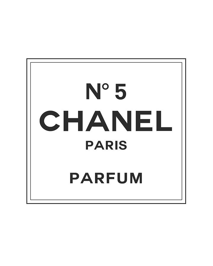 Chanel No 5 Parfum Black And White 02 Lifestyle And