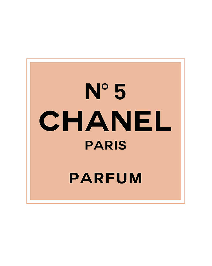 Chanel Digital Art - Chanel No 5 Parfum - Pink And Black 01 - Lifestyle And Fashion by TUSCAN Afternoon