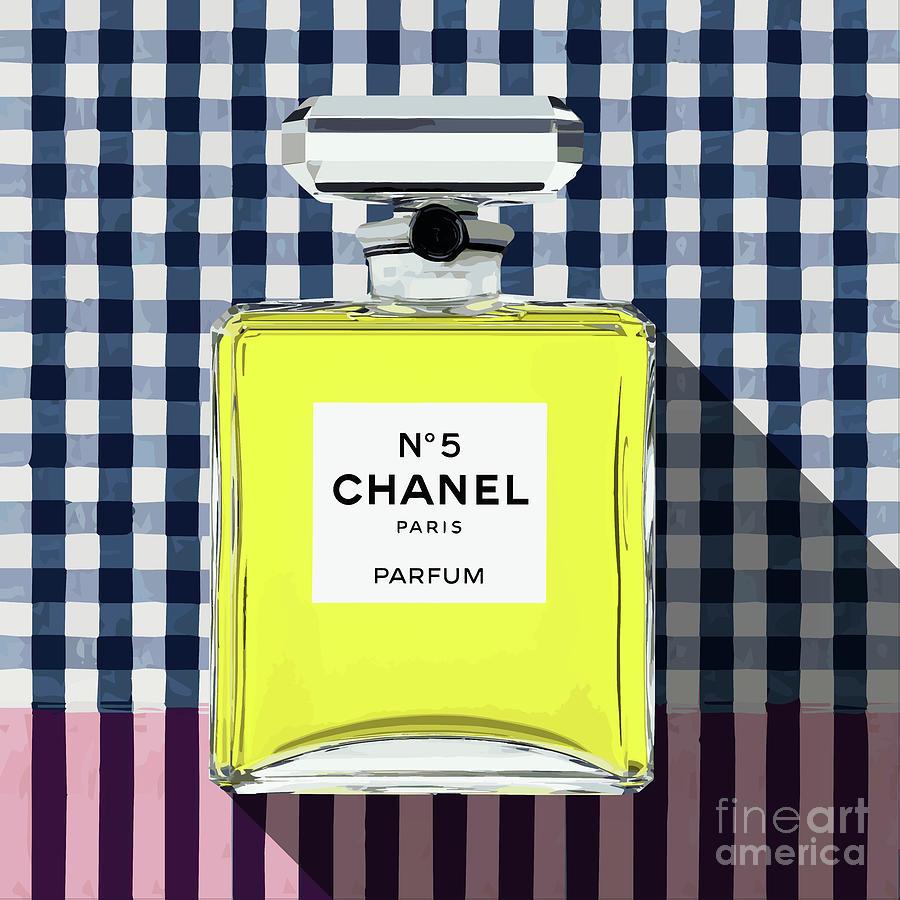 Chanel No.5 Digital Art - Chanel-no.5-pa-kao-ma1 by Bobbi Freelance