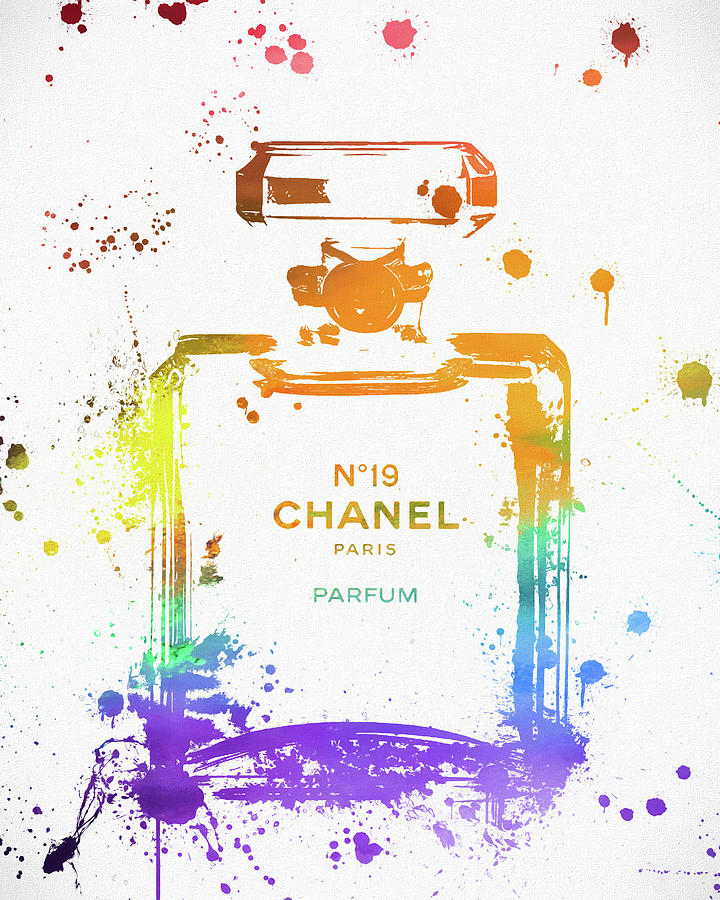 Coco Chanel Painting - Chanel Number Nineteen by Dan Sproul
