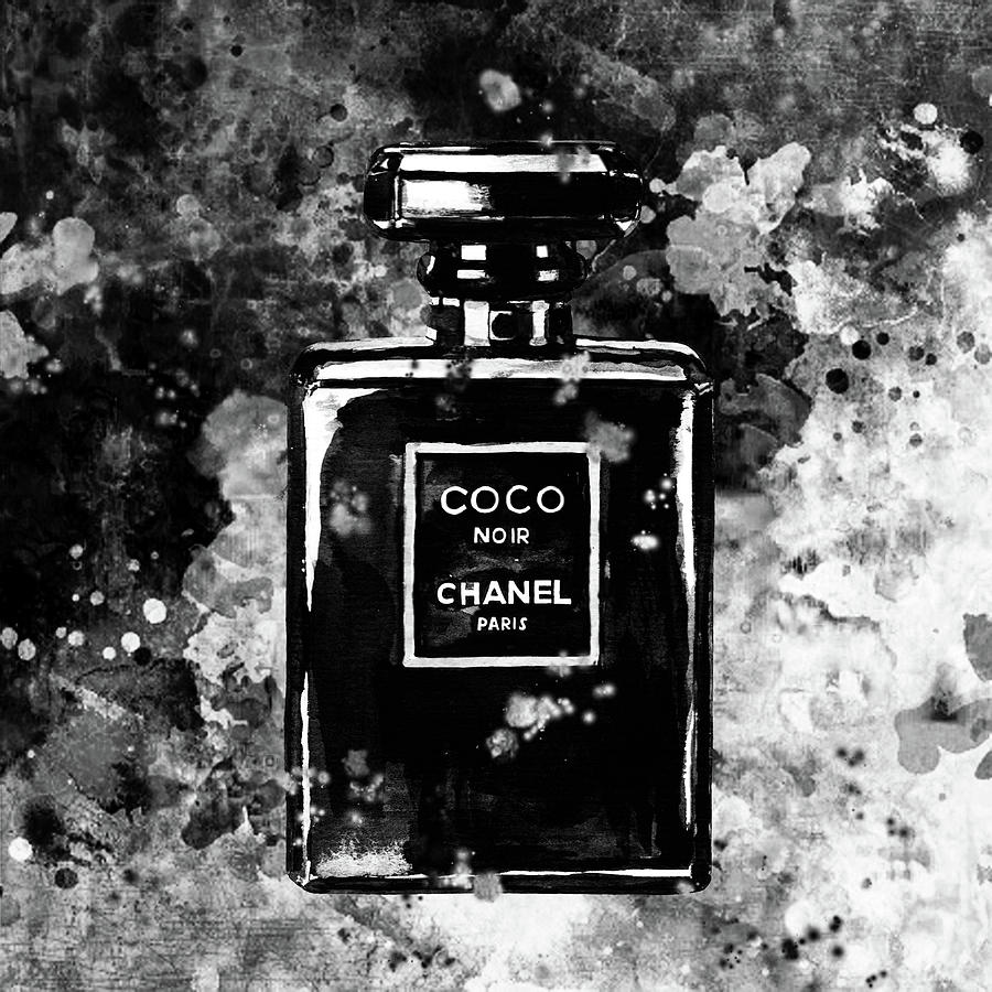 Chanel Black And White Black And White Photography