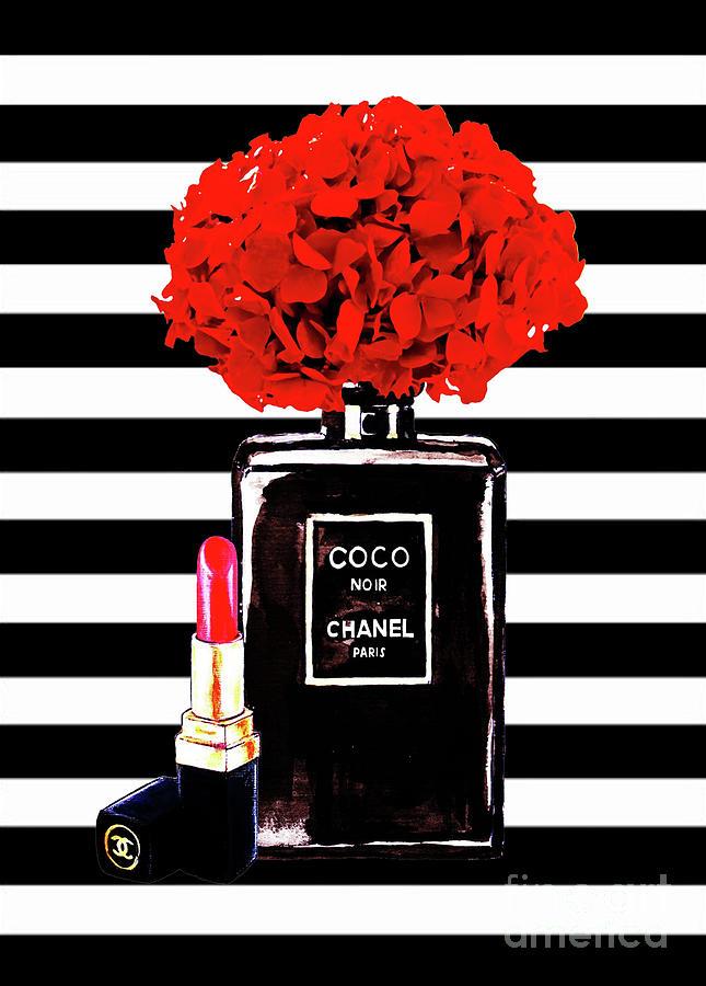 Chanel Poster Chanel Print Chanel Perfume Print Chanel