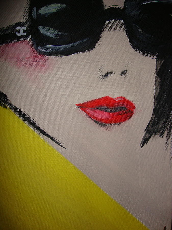 Face Painting - Chanel Sunglasses by Zully