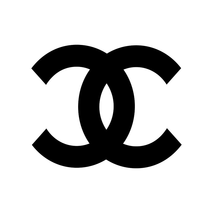 Chanel Digital Art - Chanel Symbol CH6000 by Edit Voros