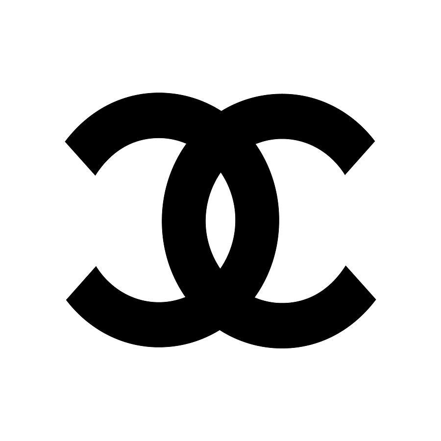 Chanel Symbol Digital Art By Edit Voros