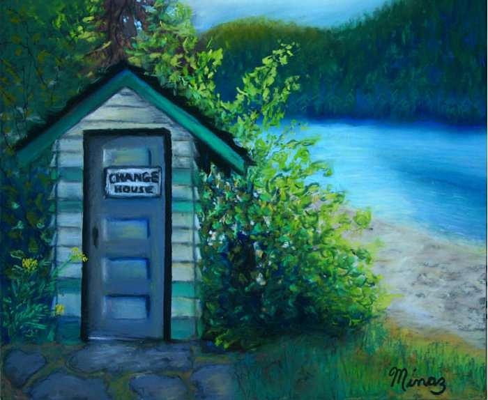 Change House Painting by Minaz Jantz