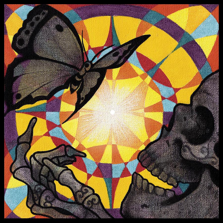 Mandala Painting - Change Mandala by Deadcharming Art