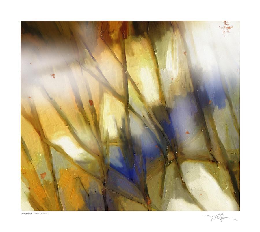 Seasons Painting - Change Of The Seasons by Bob Salo