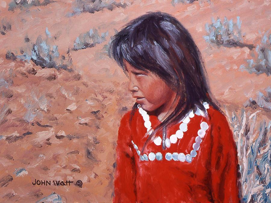 Changed Outlook Painting by John Watt