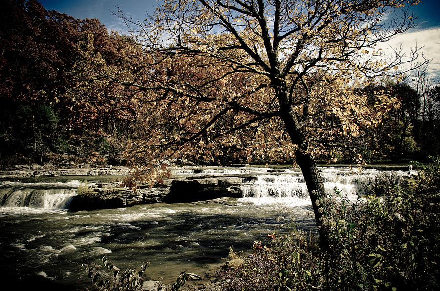 Landscape Photograph - Changes Blowing In by Melissa  Riggs