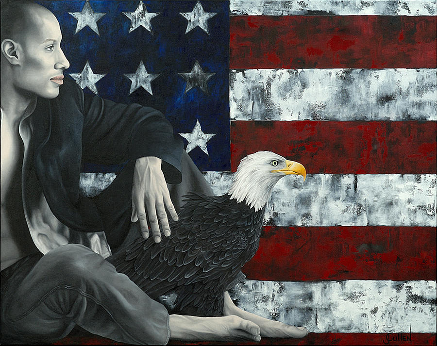 Political Painting - Changes by Johanne Cullen