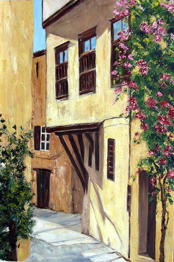 Landscape Painting - Chania Kreta Greece by Lesuisse Viviane