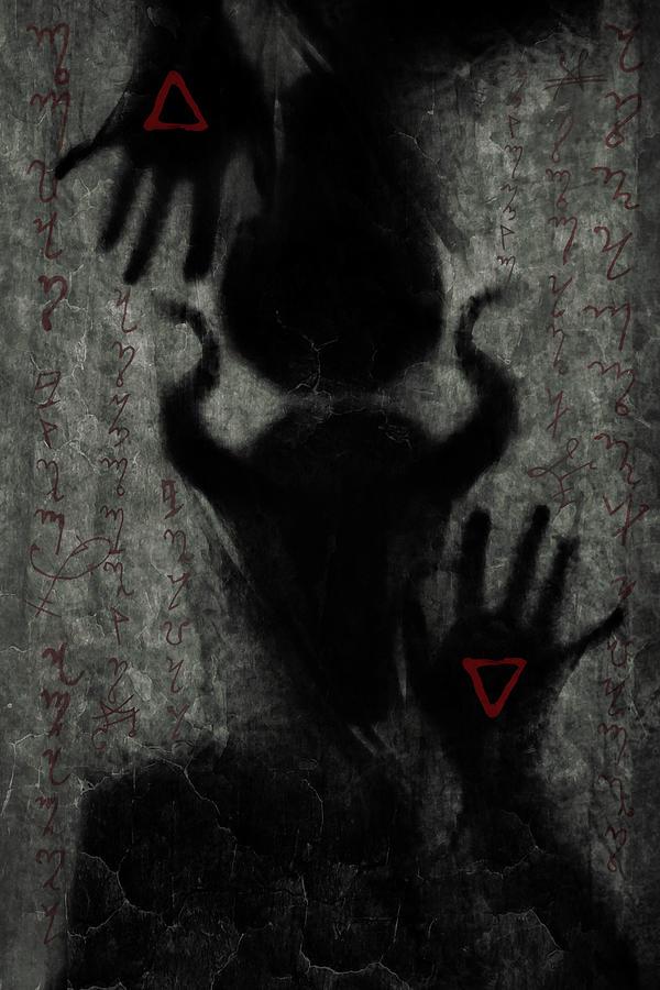 Demon Digital Art - Channeling by Cambion Art