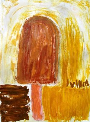 Dreams Painting - Channeling Fudge Cicles by Donna Zoll