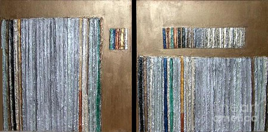 Decorative Mixed Media - Channeling by Marlene Burns