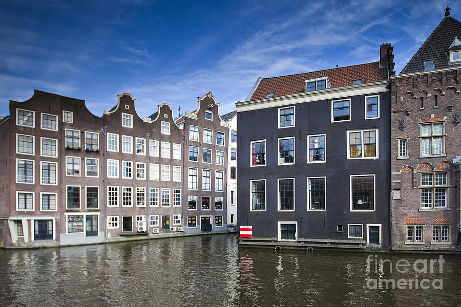 Age Photograph - Channles Of Amsterdam by Andre Goncalves