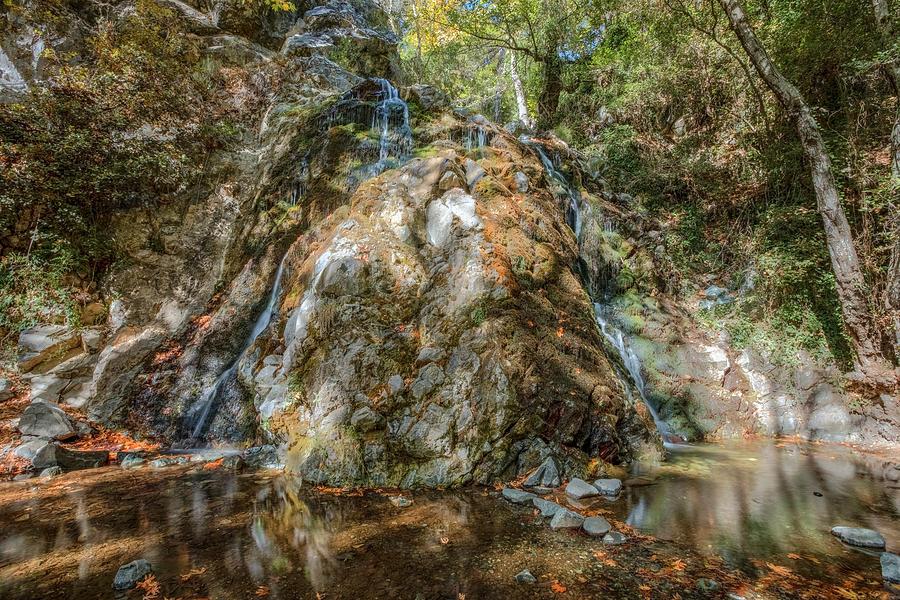 Limassol Photograph - Chantara Waterfalls - Cyprus by Joana Kruse