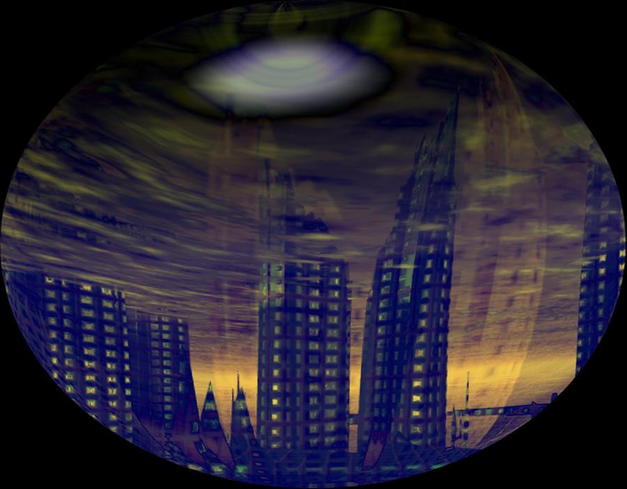 Galaxy Digital Art - Chaos by Mason BenYair
