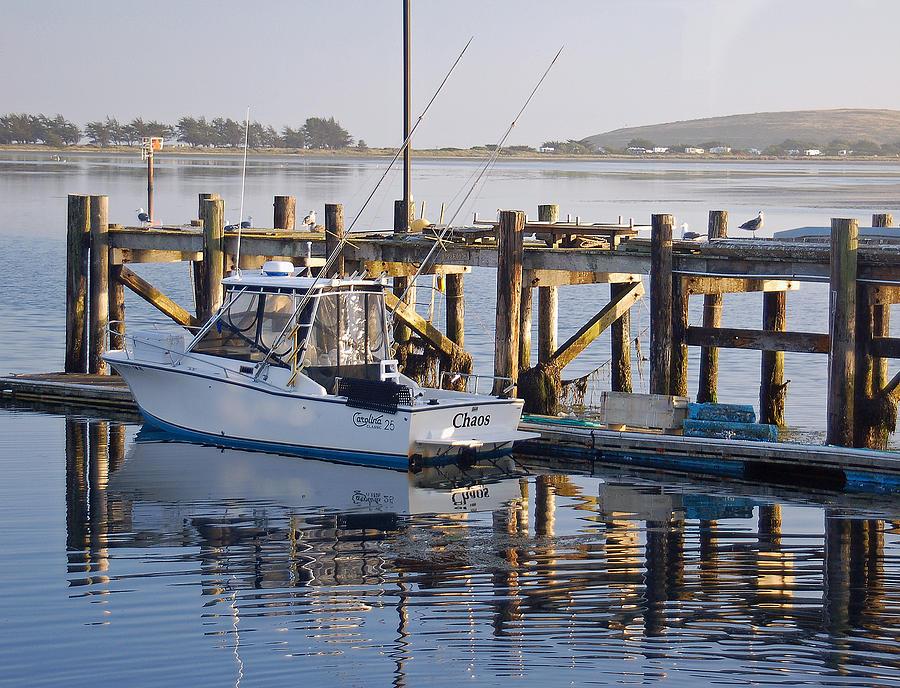 Boat Photograph - Chaos near Bodega Bay by Suzanne Gaff