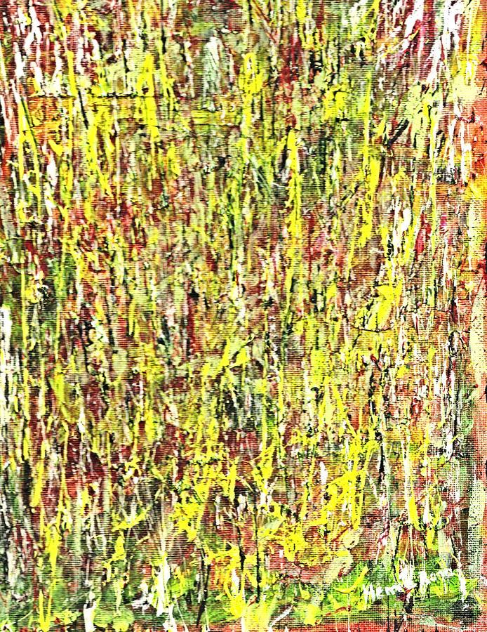 Abstract Pattern Painting - Chaotic Beauty by Hema Rana